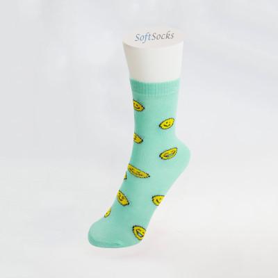 Чорапи за момиченце с емотикони - термо
