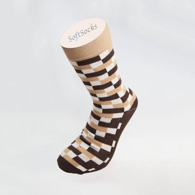 Мъжки фешън чорапи на фигури
