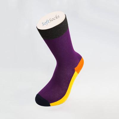 Многоцветни дамски фешън чорапи
