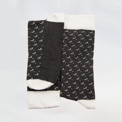 Луксозни мъжки чорапи с шарка