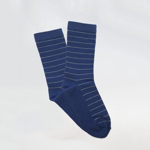 Детски чорапи от бамбук с тънки линии