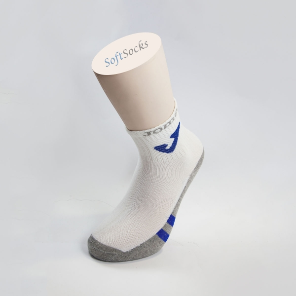 Чорапи терлик с лого и цветна пета
