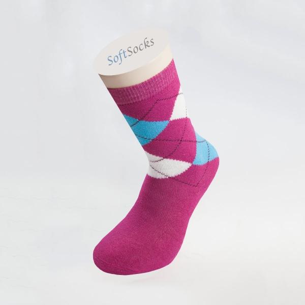 Дамски многоцветни термо чорапи