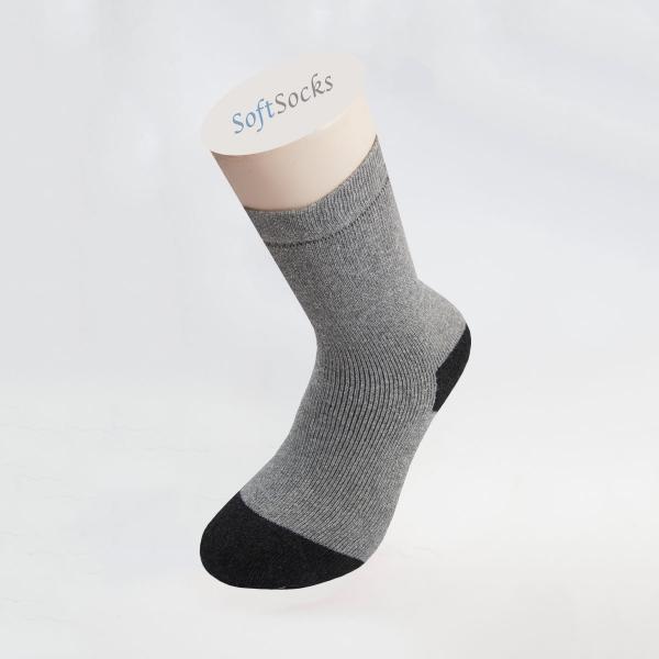 Термо чорапи с цветни пръсти и пета
