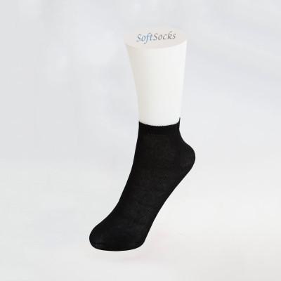 Едноцветни тънки чорапи тип терлик