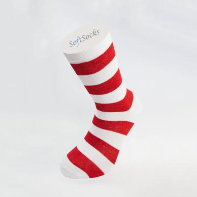 Дамски чорапи на дебело райе